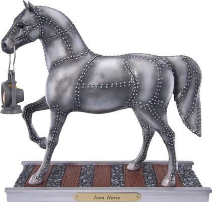 """Статуэтка Лошадь """"Железный конь"""" (Iron Horse), 18.5см Enesco 4030255"""