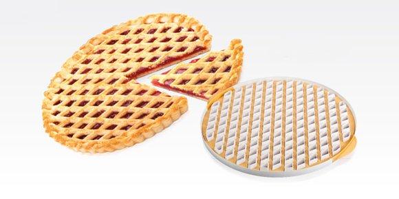 Форма сетки для пирога DELICIA из новинок от Tescoma, представленных в октябре 2015 года