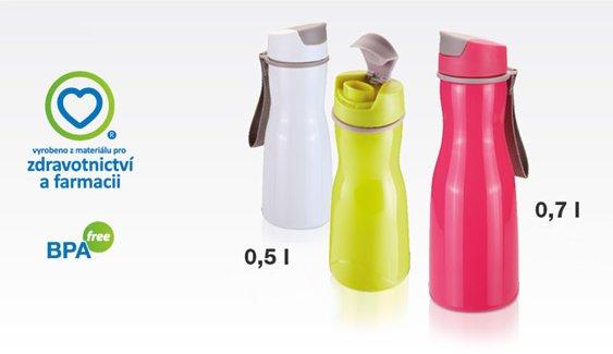 Переносные бутылки для напитков PURITY из ассортимента новинок от Tescoma, представленных в ноябре 2015 года