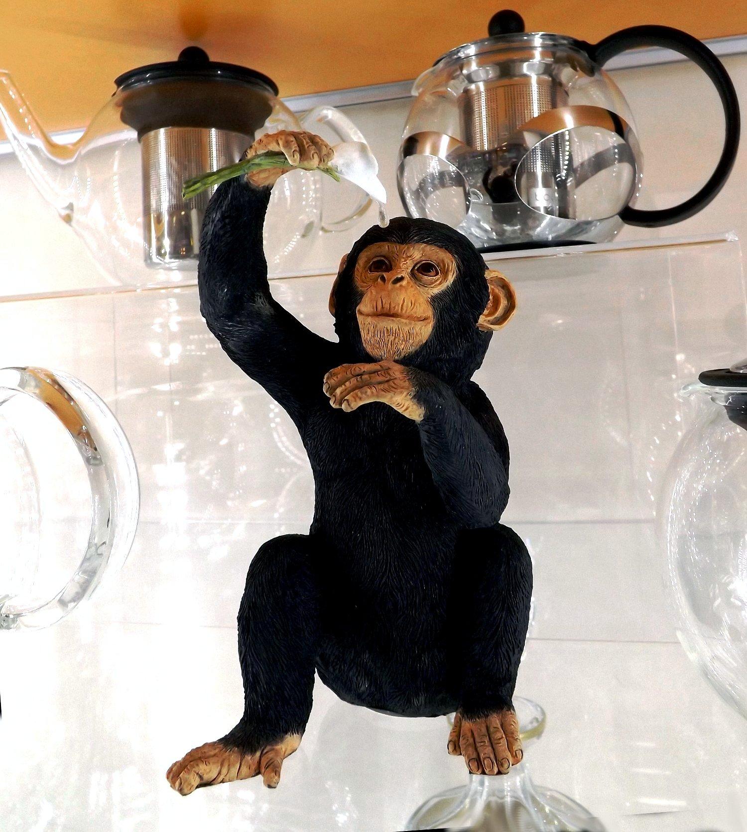 Статуэтка обезьяны на витрине с продукцией от Bodum из ассортимента магазина Посуда40.рф