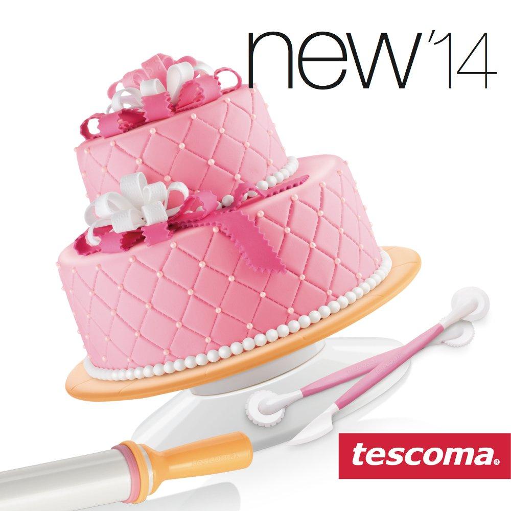 Результат применения инструментов для оформления и украшений кондитерских изделий, а также кондитерской посыпки из числа новинок 2014 года от Tescoma