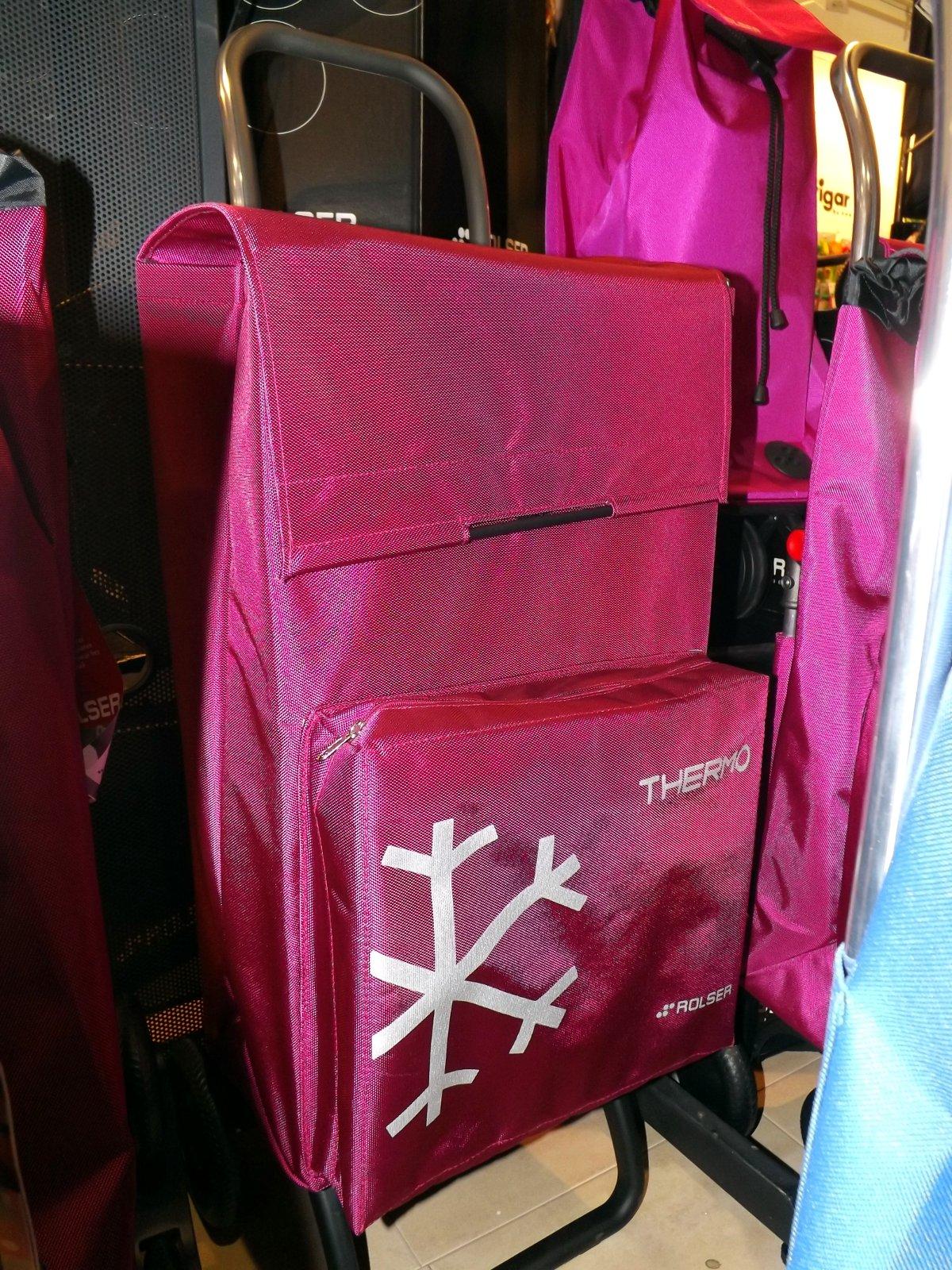 Сумка-тележка с термоизолированным отделом от Rolser на выставке КонсумЭкспо-Зима 2015
