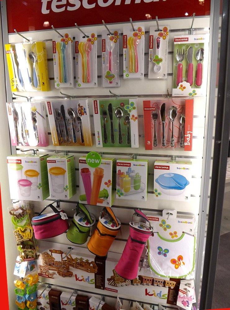 Посуда и аксессуары для кухни от Tescoma. Выставка HouseHold Expo в Москве, сентябрь 2013 г.
