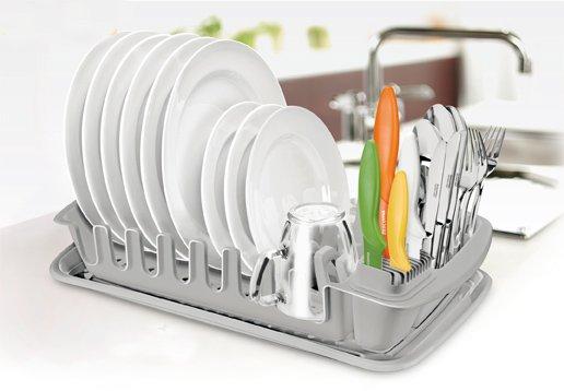 Сушилка для посуды CLEAN KIT из ассортимента новинок Tescoma, представленных в феврале 2015 года