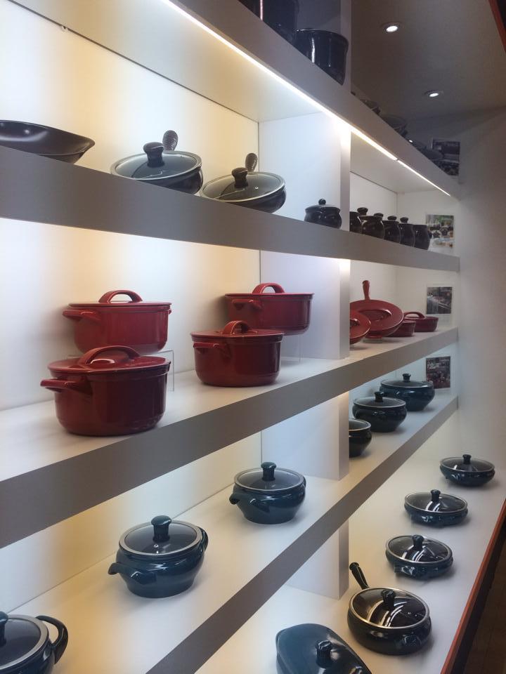 Керамическая посуда от Ceraflame на 29-й выставке ABUP 2014. Кастрюли и сковороды