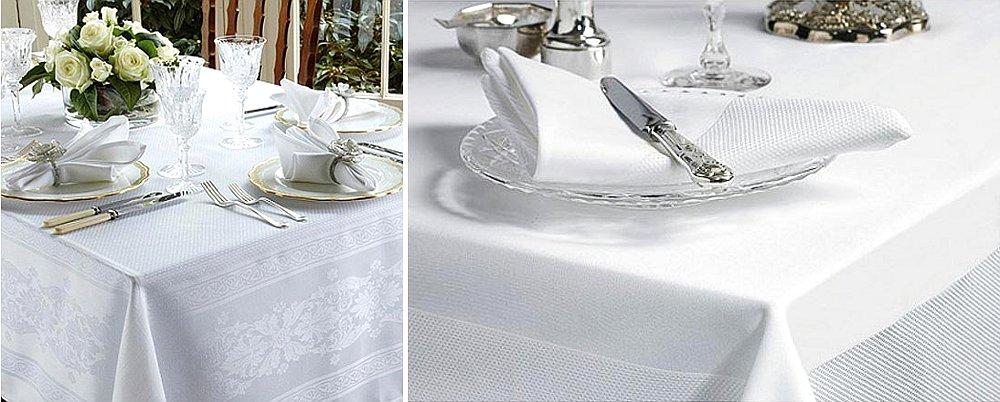 Белые скатерти от Walton & Co