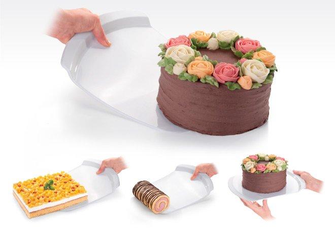 Лопатка DELICIA от Tescoma для тортов, рулетов и другой крупной выпечки, представленная в сентябре 2016 года