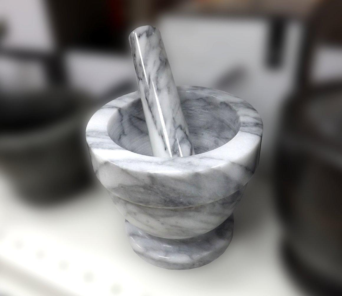 Мраморные ступка и пестик от Premier Housewares из ассортимента магазина Посуда40.рф