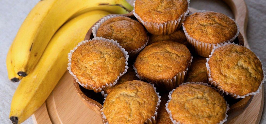 Быстрый рецепт банановых кексов
