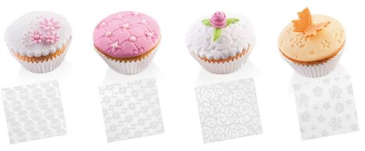 Пирожные, созданные с использованием шаблонов DELICIA DECO