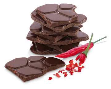 Шоколадные десерты с декоративными текстурами, созданными по шаблонам DELICIA DECO