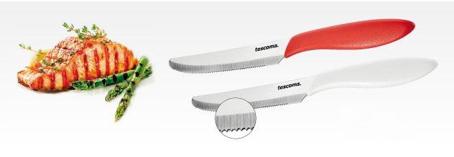 Столовые ножи PRESTO с длиной лезвия 12 см, представленные специалистами Tescoma в марте 2017 года