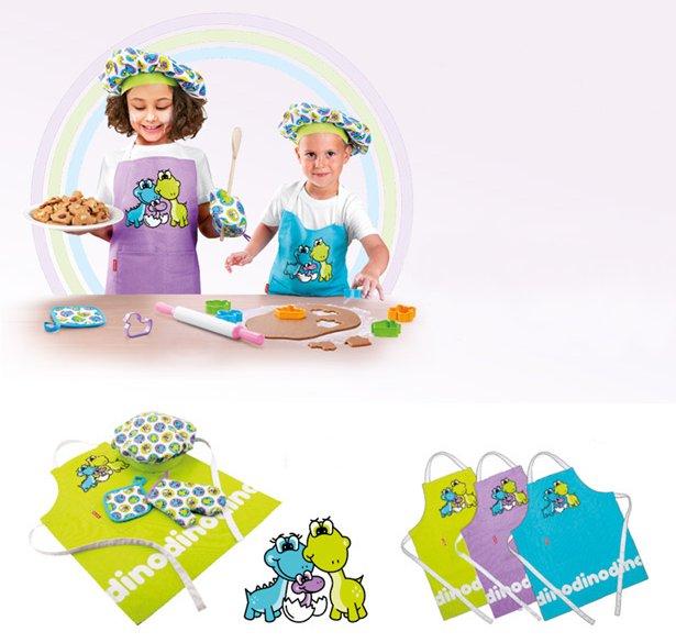 Детская поварская одежда DINO из ассортимента новинок от Tescoma, представленных в ноябре 2015 года