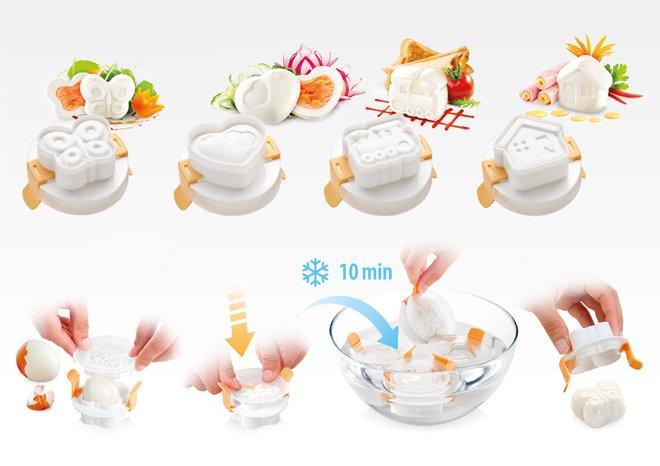 Пресс-формы для сервировки яиц PRESTO из ассортимента новинок от Tescoma, представленных в феврале 2016 года