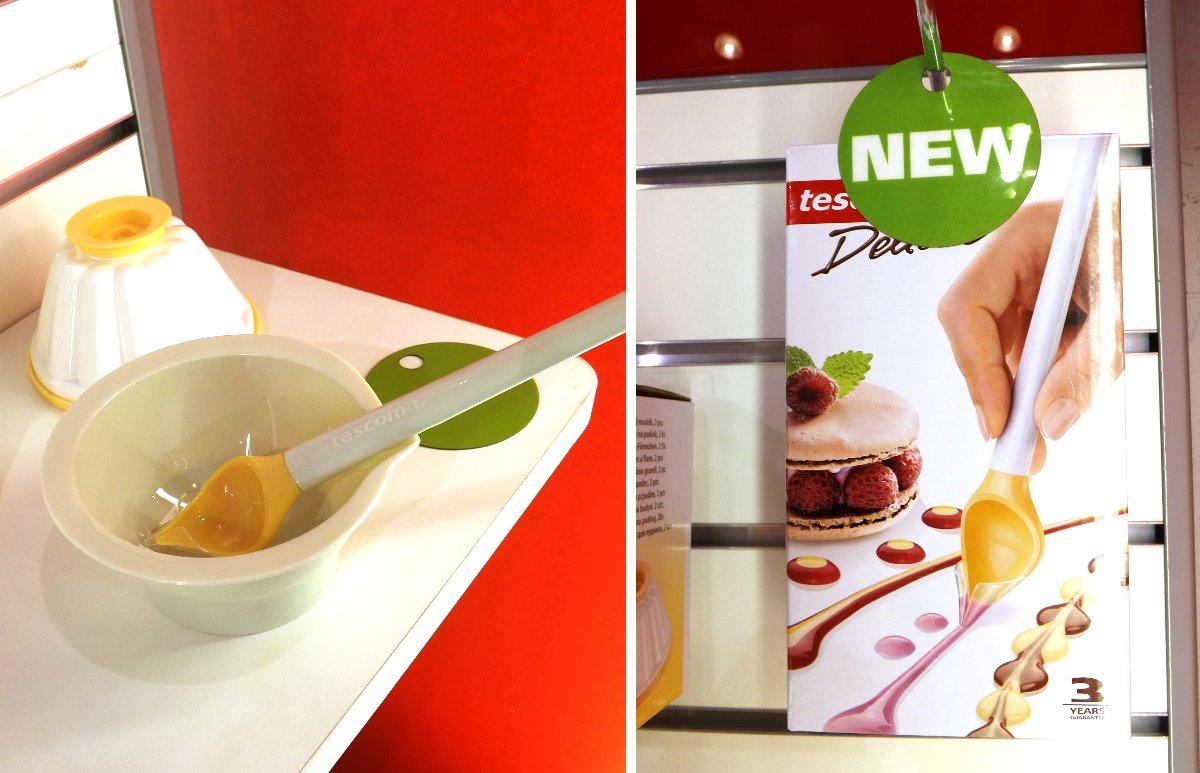 Набор от Tescoma DELICIA для украшения блюд, на весенней выставке HouseHoldExpo 2015