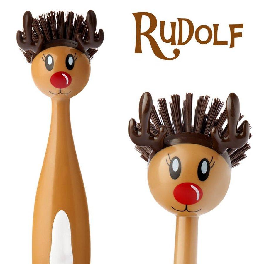 Новый персонаж для декорирования изделий Vigar - красноносый северный олень Рудольф