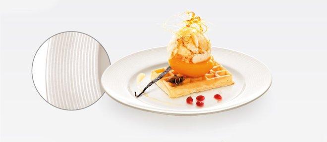 Десертная тарелка (Ø20 см) OPUS STRIPES от Tescoma для нежидких блюд, представленная в июле 2016 года