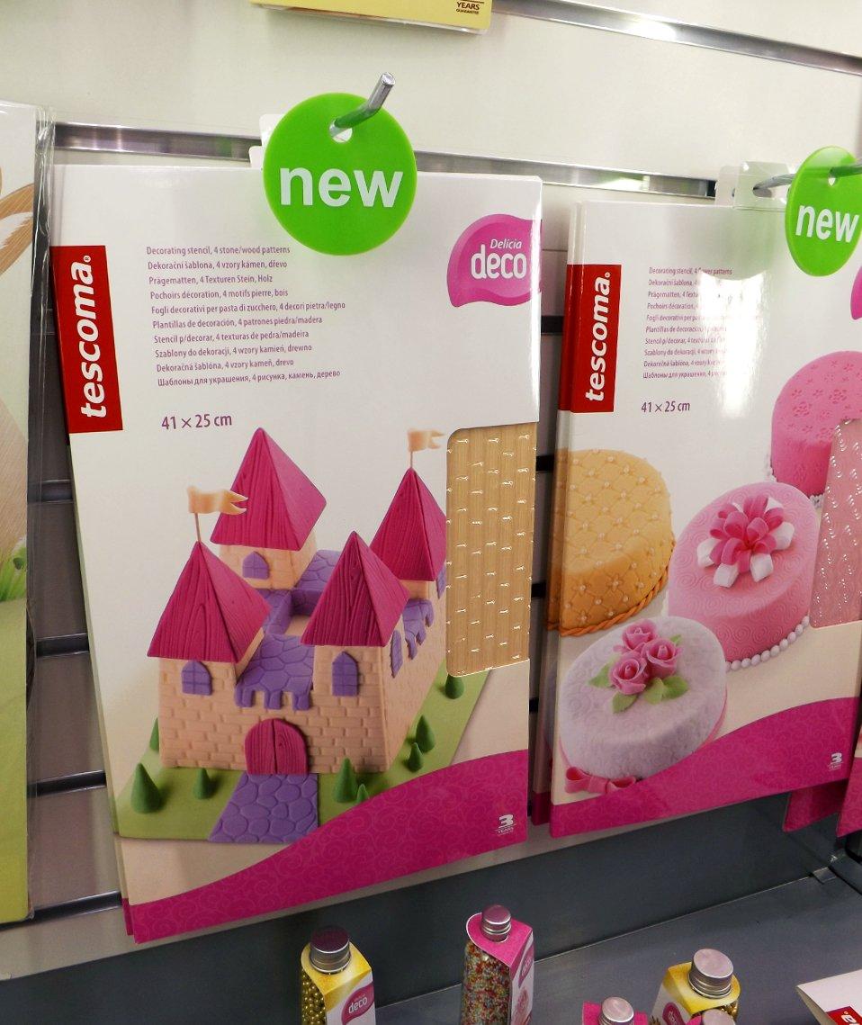 Кулинарные коврики для украшения тортов от Tescoma на сентябрьской выставке HouseHoldExpo 2014