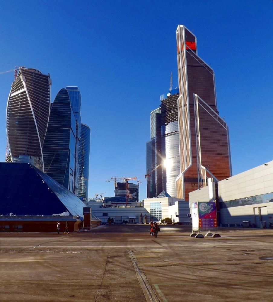 Снимок, сделанный во время выставки КонсумЭкспо 2014 в московском Экспоцентре