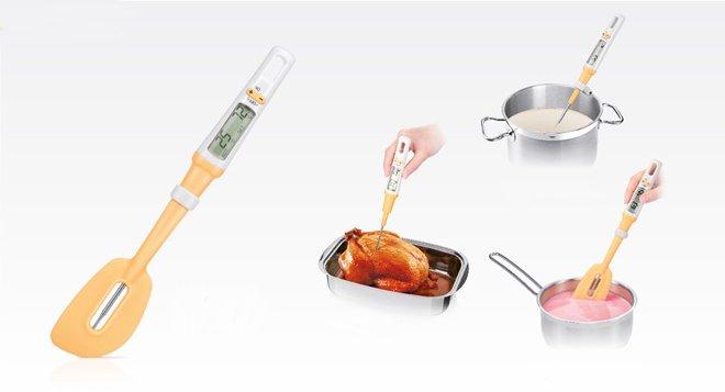 Цифровой термометр со шпателем DELICIA из ассортимента новинок от Tescoma, представленных в сентябре 2015 года