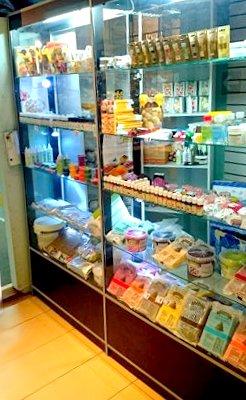 Витрина магазина Лавка кулинара. Ноябрь 2015 года