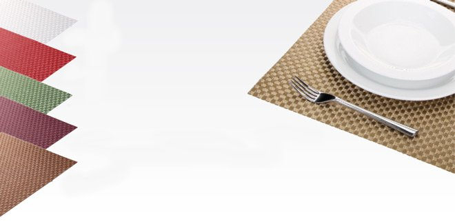 Сервировочные коврики FLAIR SHINE из ассортимента новинок от Tescoma, представленных в сентябре 2015 года