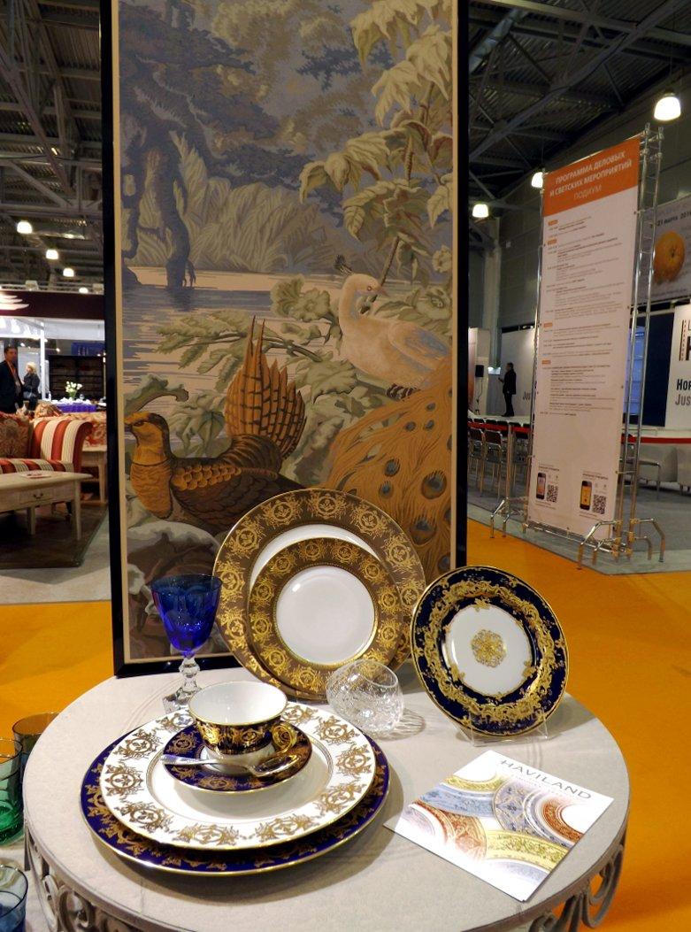 Фарфоровая посуда из коллекций бренда Haviland. Вид Б