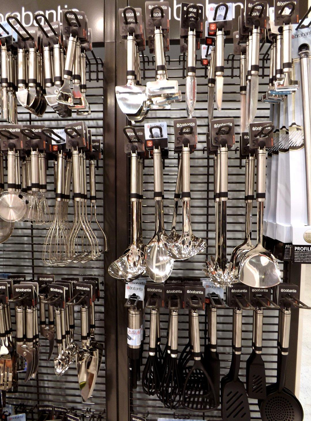 Кухонные аксессуары от голландского бренда Brabantia на выставке HouseHoldExpo в сентябре 2016 года