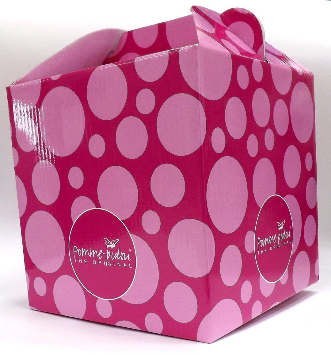 Розовая подарочная упаковка для керамической копилки от Pomme-Pidou
