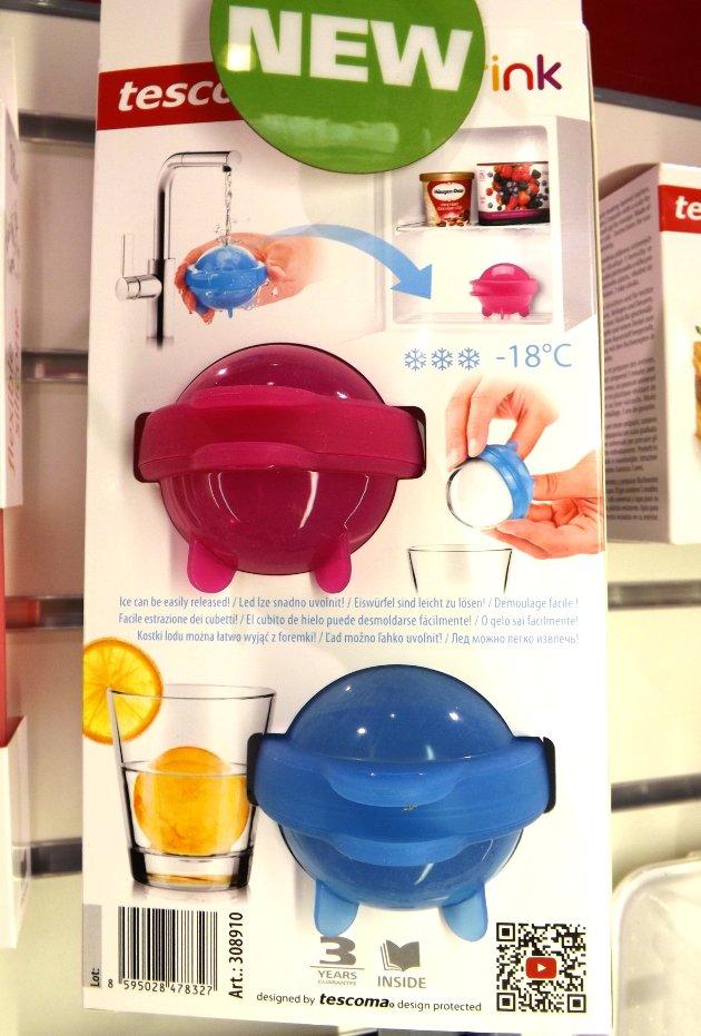 Формы для ледяных шаров myDRINK из новинок от Tescoma, представленных на выставке HouseHoldExpo в сентябре 2015 года