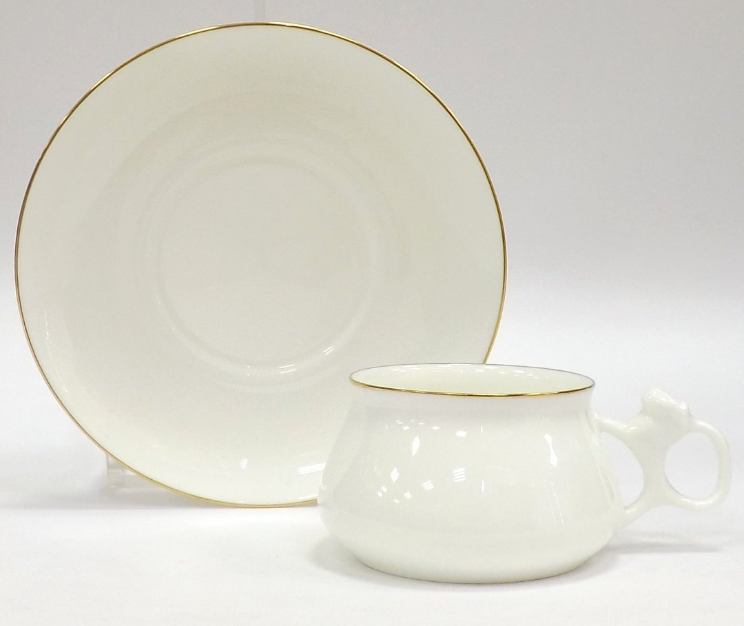 Чашка с блюдцем «Золотой кант» — форма Билибина — от ИФЗ