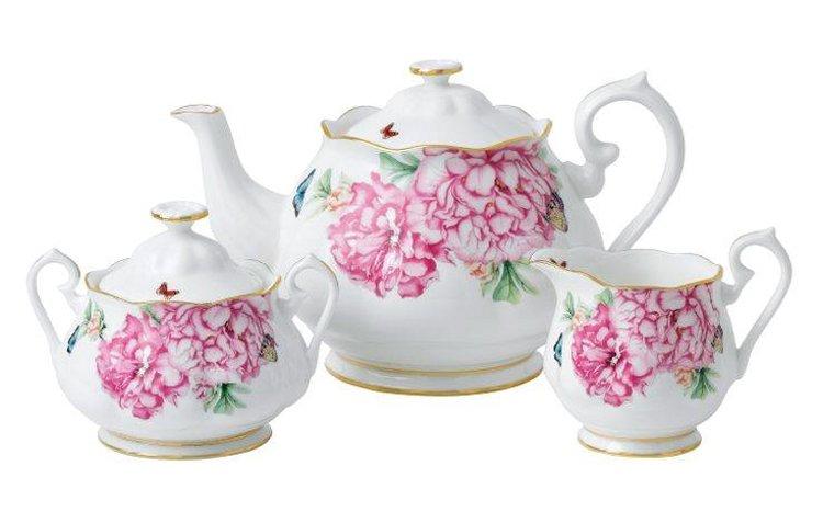Фарфоровая посуда из коллекции Miranda Kerr for Royal Albert 2014. Вид Б