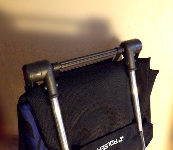 Ручка сумки-тележки LOGIC RG PAC067azul от Rolser для переноса в сложенном состоянии