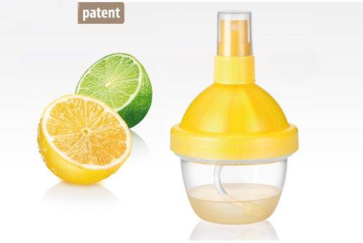 Соковыжималка с распылителем для лимонов и лаймов из ассортимента новинок Tescoma, представленных в феврале 2015 года