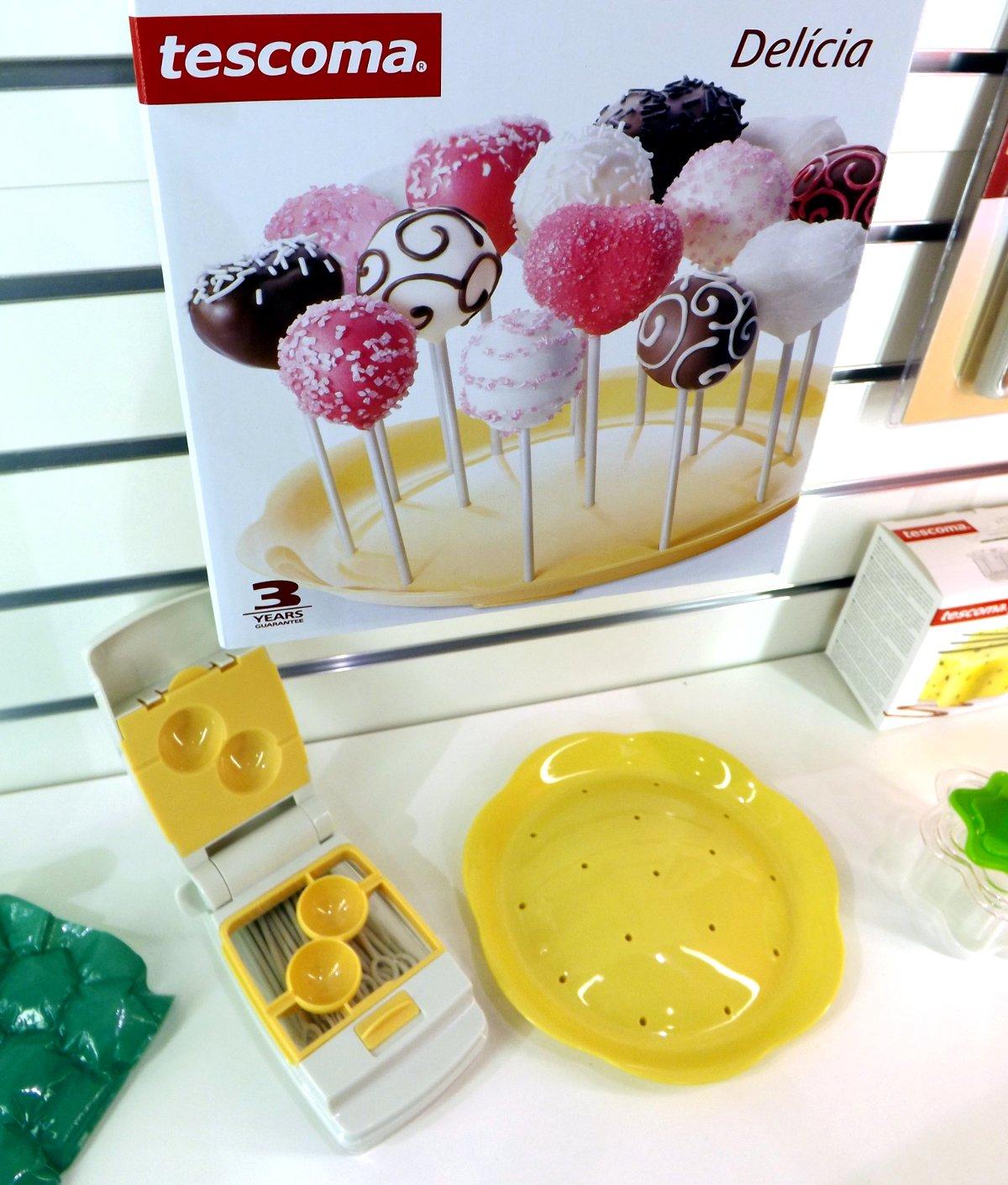 Набор из коллекции Tescoma DELICIA для приготовления конфет на палочке на весенней выставке HouseHoldExpo 2015