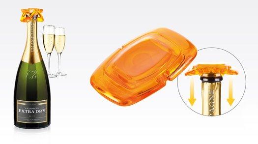 Пробка для бутылки из серии myDRINK для шипучих напитков, из ассортимента новинок от Tescoma, представленных в мае 2015 года