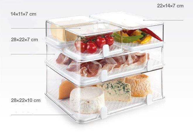 Контейнеры PURITY для чистоты продуктов и порядка в холодильнике из ассортимента новинок от Tescoma, представленных в сентябре 2015 года