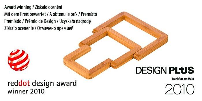 Бамбуковая раскладная подставка от Tescoma