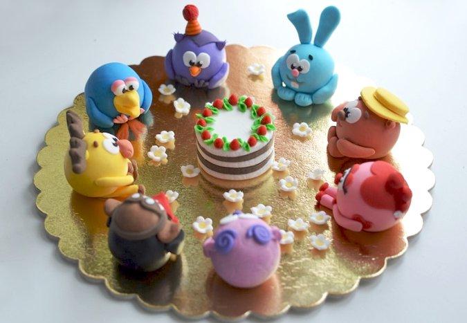 Сахарные фигурки для торта из ассортимента Лавки кулинара 2015 года
