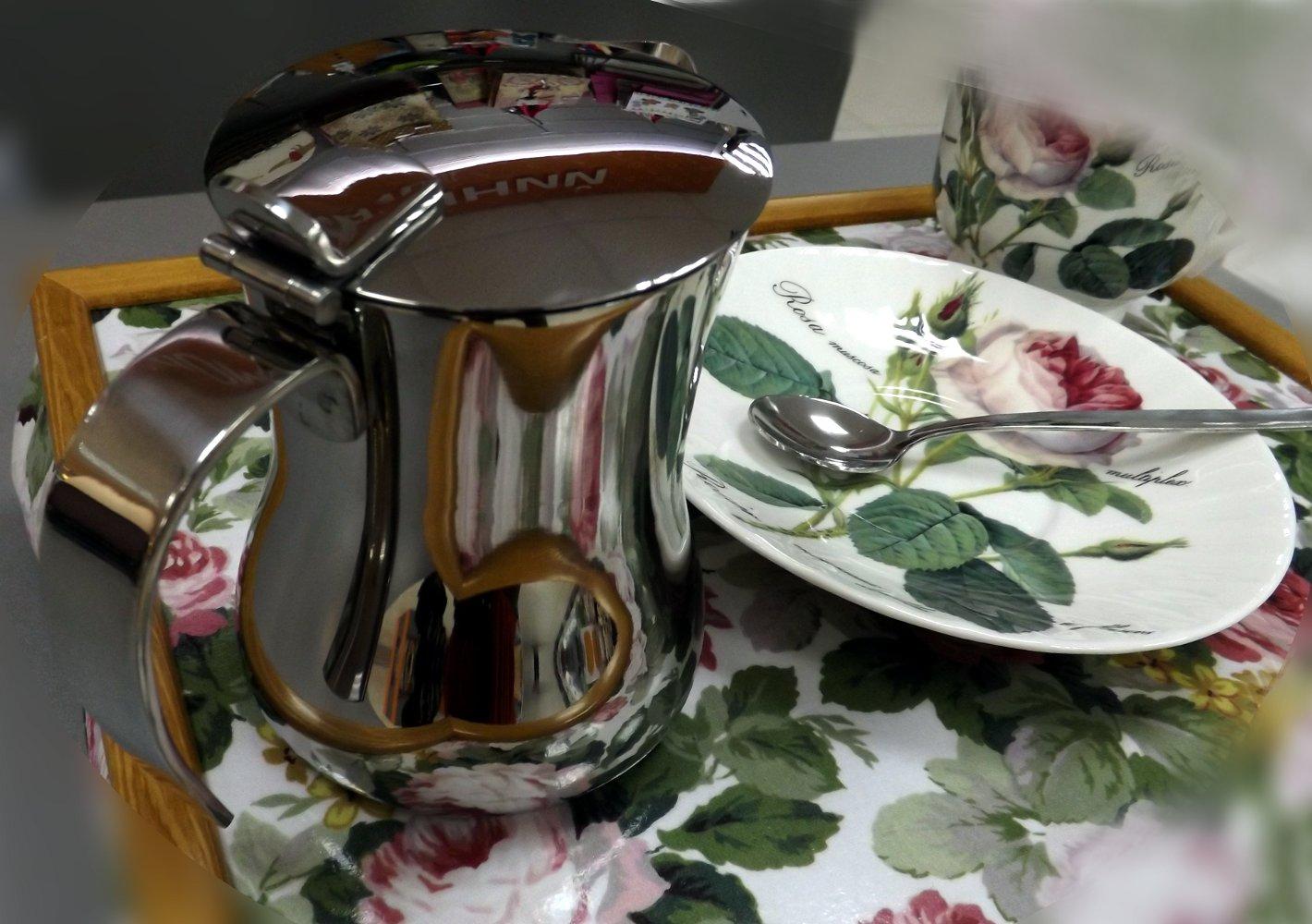 Заварочный чайник из нержавейки Tescoma MONTE CARLO