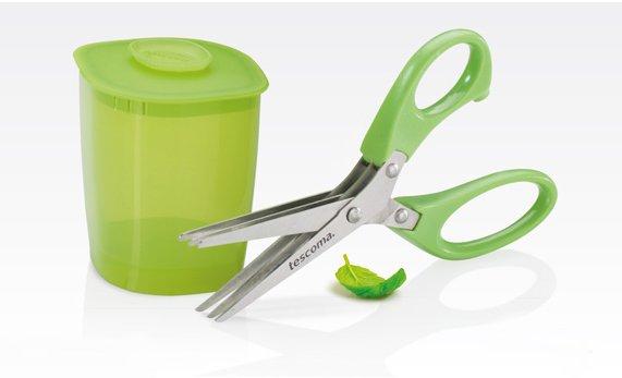 Ножницы для измельчения трав PRESTO с тройными лезвиями и дозатором, из ассортимента Tescoma (июль-август 2015 г.)
