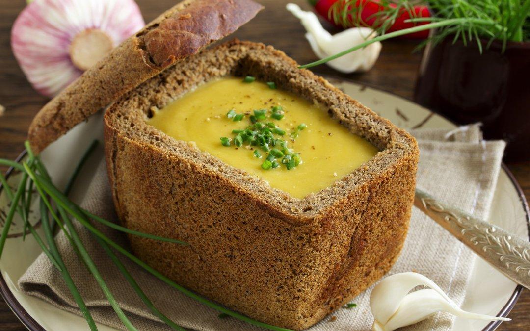 Иллюстрация к рецепту лукового супа