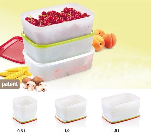 Контейнеры для хранения замороженных продуктов из ассортимента новинок от Tescoma, представленных в феврале 2015 года