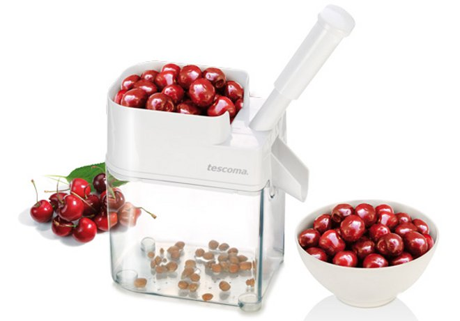 Удалитель черешневых и вишнёвых косточек HANDY от Tescoma, рекомендуемый для приготовления вишнёвого пирога