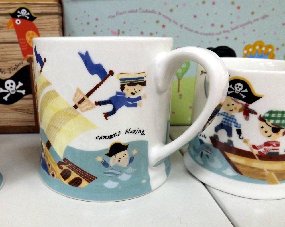Набор кружек Queens by Churchill - Пираты семи морей