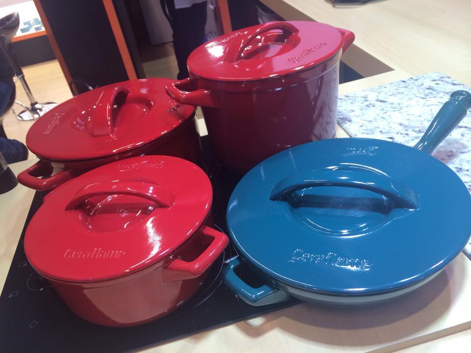 Керамическая посуда от Ceraflame на 29-й выставке ABUP 2014. Кастрюли и сковорода