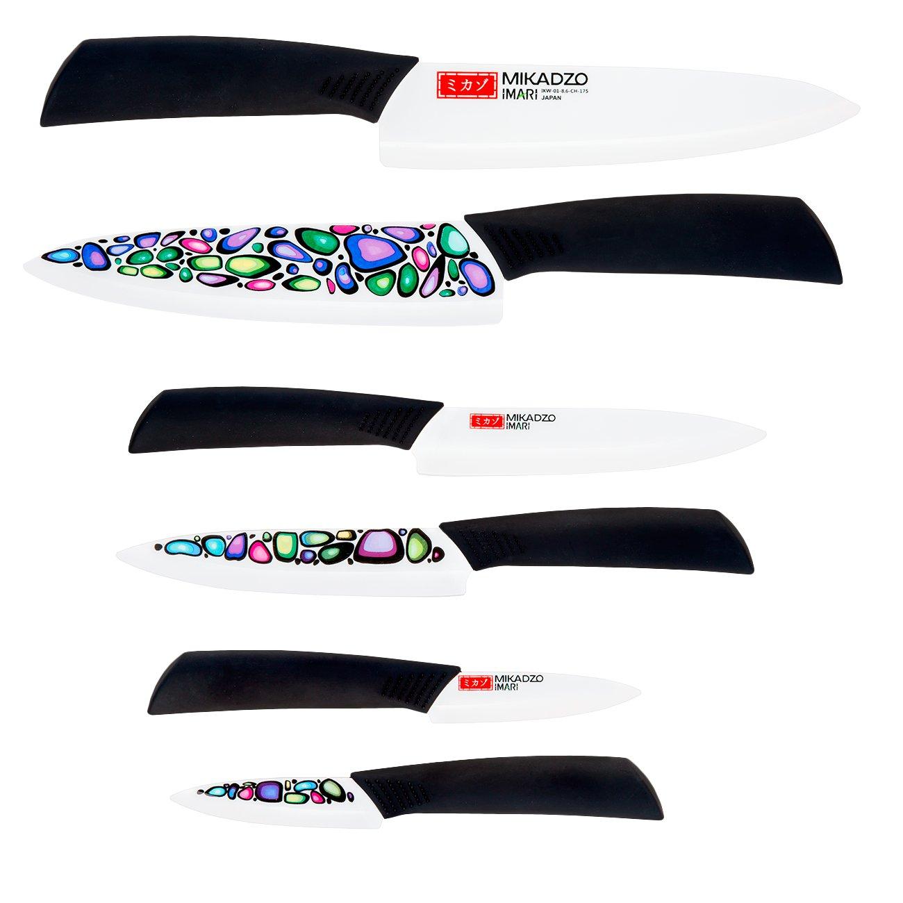 Кухонные керамические ножи Mikadzo IMARI