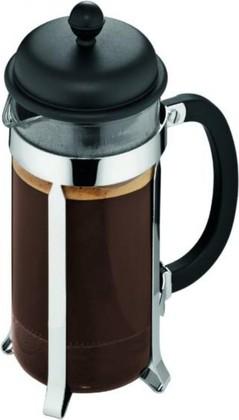 Кофейник с френч-прессом 1.0л, чёрный Bodum CAFFETTIERA 1918-01