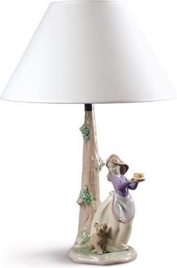 Лампа декоративная День Рождения Щенка (Puppy's Birthday) 35см NAO 02001820