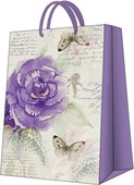 Пакет подарочный бумажный Paw Чудо Роза 30x41x12см AGB1000102